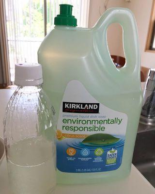 カークランド エコフレンドリー食器用液体洗剤