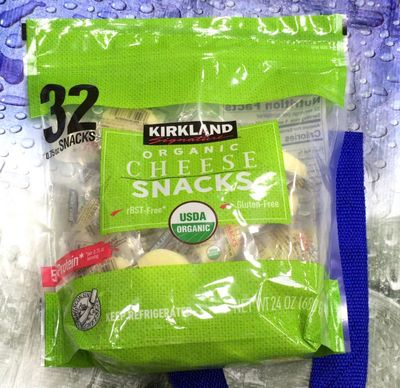 カークランド オーガニックスナックチーズ