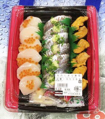 カークランド 旬のにぎり寿司(2018年)