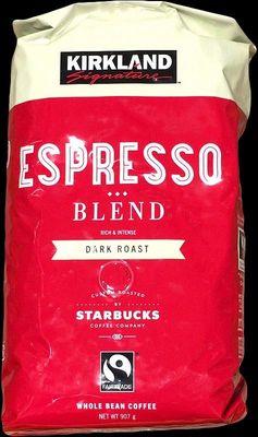 カークランド スターバックスローストエスプレッソブレンドコーヒー