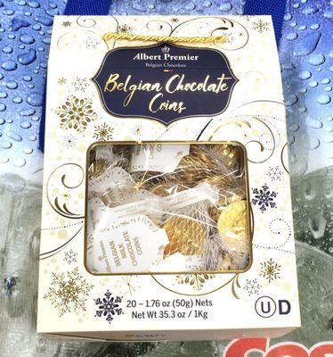 アルベルト ベルギー コインチョコレート ALBERT Belgium Chocolate Coins