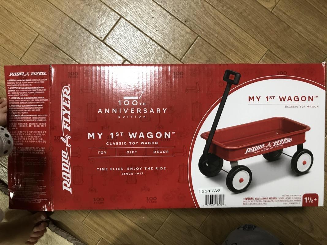 Clarisさん[8]が投稿したラジオフライヤー #5Little Red Wagonsの写真