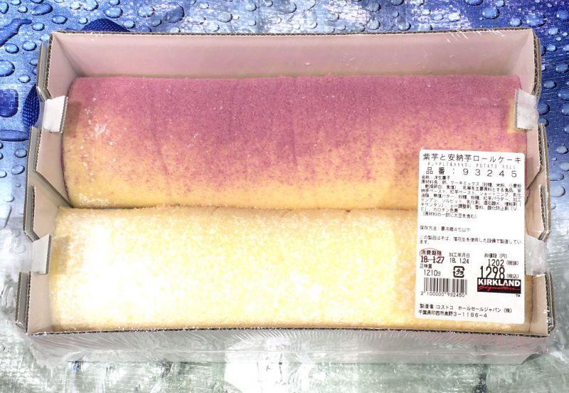 [2]が投稿したカークランド 紫芋と安納芋ロールケーキの写真