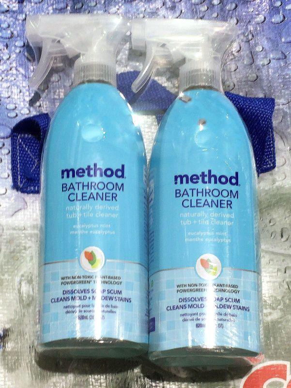 [2]が投稿したmethod(メソッド) バスルームクリーナー ユーカリミント (風呂用洗剤)の写真