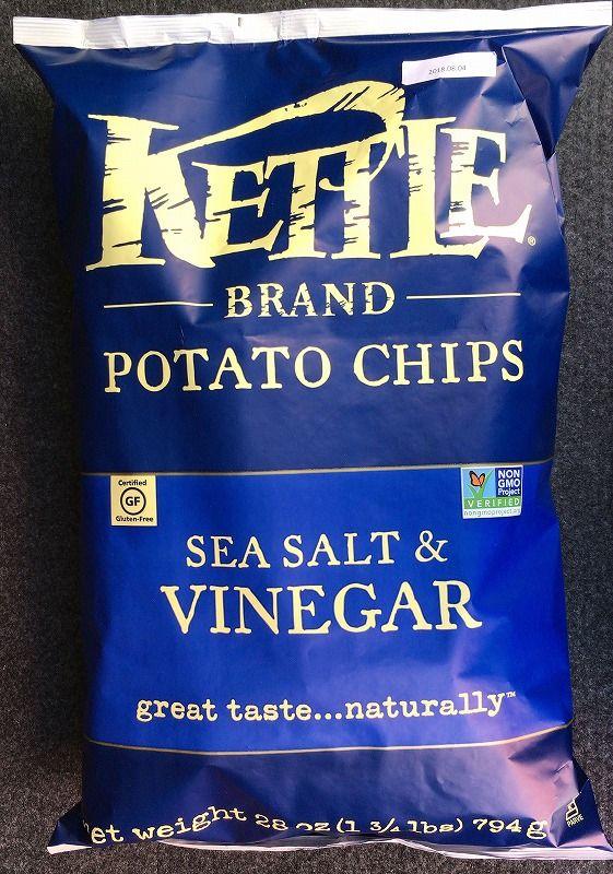 [2]が投稿したKETTLE ケトル ポテトチップス シーソルト&ビネガーの写真