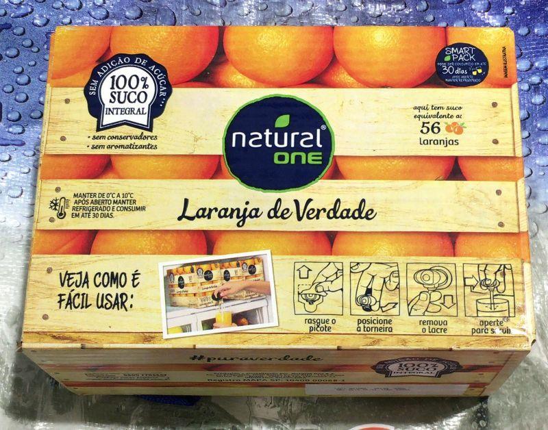 [2]が投稿したナチュラルワン 100%オレンジジュースの写真