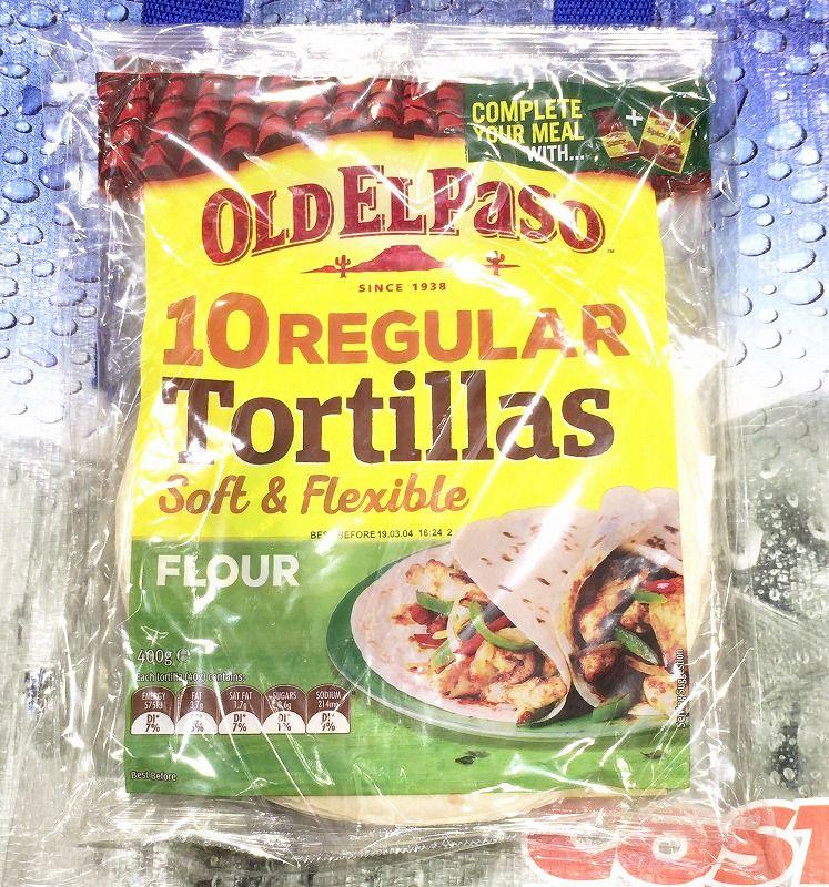 [5]が投稿したオールド・エルパソ フラワートルティーヤ OLD EL PASO Tortillasの写真