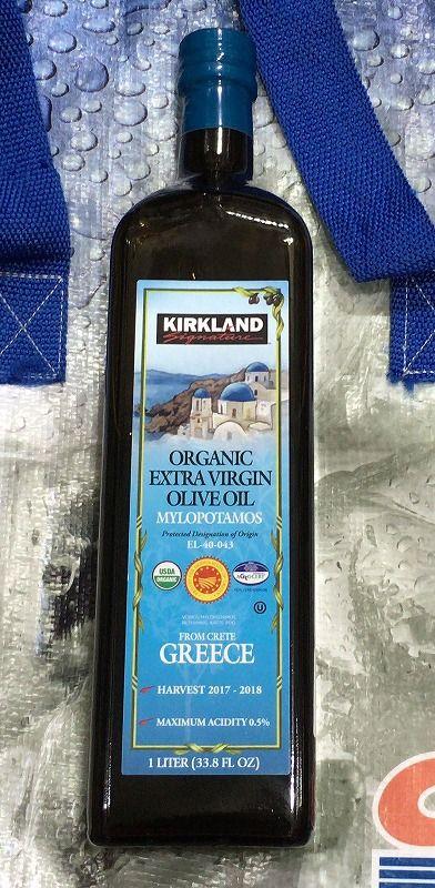 [2]が投稿したカークランド ミロポタモス オーガニック エクストラバージン オリーブオイルの写真