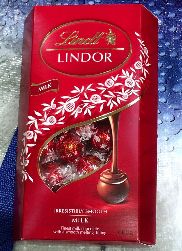 [2]が投稿したリンツ リンドール トリュフチョコレート ミルクの写真