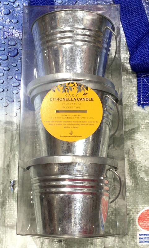 [21]が投稿したCITRONELLA シトロネラ 虫よけキャンドル(忌避効果)の写真