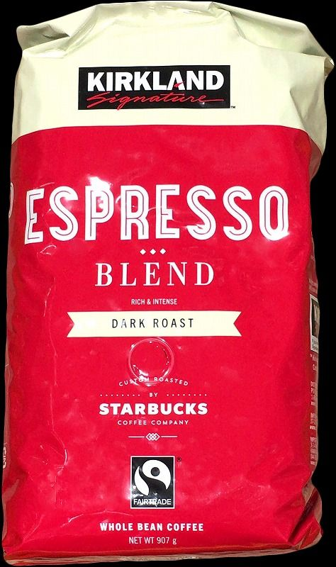 [44]が投稿したカークランド スターバックスローストエスプレッソブレンドコーヒーの写真