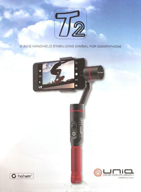 [2]が投稿したHOHEM スマートフォン用ハンディジンバルの写真