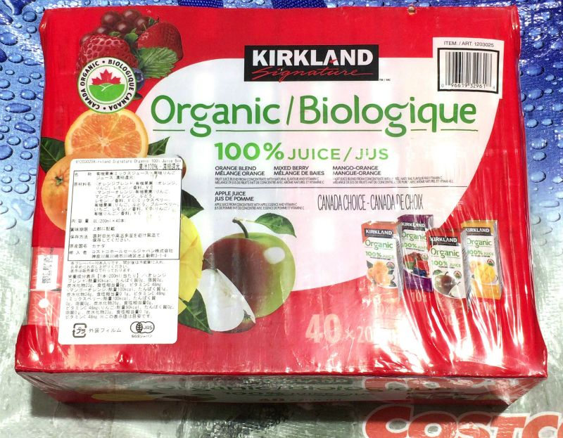 [2]が投稿したカークランド オーガニック100%ジュースの写真