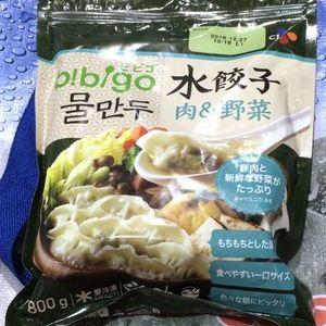 CJ BIBIGO 水餃子 肉&野菜