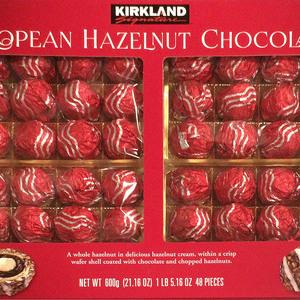 カークランド ヨーロピアンヘーゼルナッツチョコレート