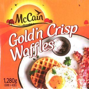マッケイン McCain ゴールデンクリスプ ワッフル