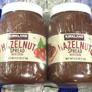 カークランド ヘーゼルナッツ チョコレート スプレッド