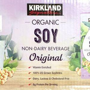 カークランド オーガニック 豆乳 オリジナル
