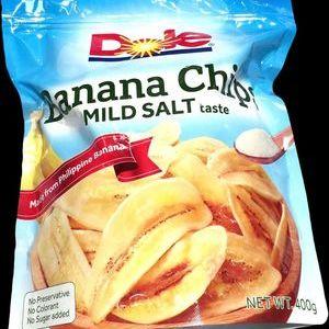 ドール バナナチップス マイルドソルト味