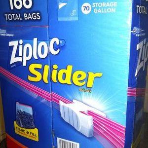ジップロック(Ziploc) スライダーバッグ バラエティーパック
