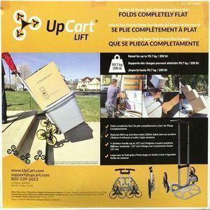 UPCART 折り畳み式 3輪階段キャリーカート