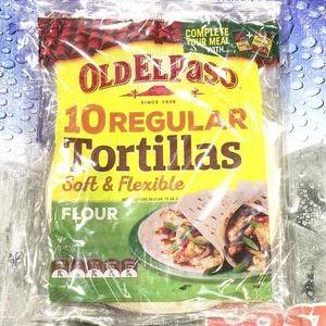 オールド・エルパソ フラワートルティーヤ OLD EL PASO Tortillas