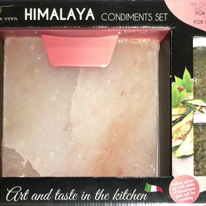 LA COLLINA TOSCANA ヒマラヤ岩塩クッキングプレート + ミックス ハーブスパイス