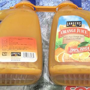 LANGERS ランガーズ オレンジジュース