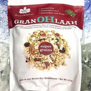 BROOK FARM GRAN OH LAAH グラノーラ スーパーグレインズ