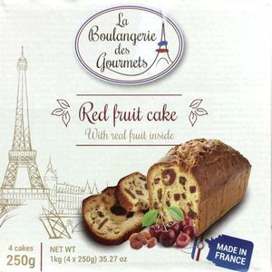 La Boulangerie des Gourmets レッドフルーツケーキ