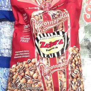 Popcornopolis ポップコーンポリス ゼブラポップコーン