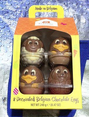 belfine ベルフィン 8デコレート ベルギー チョコレート エッグ