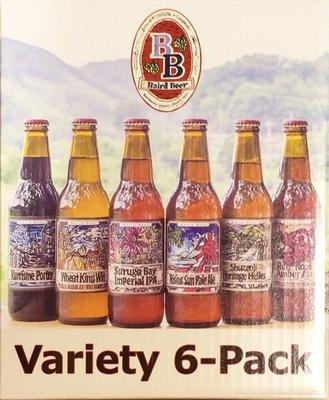 ベアードビール バラエティ 6パック