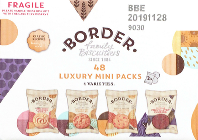 BORDER FAMILY BISCUITS クッキーアソート 4種