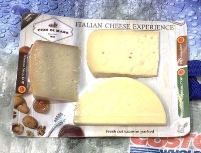 FIOR DI MASO イタリアンチーズエクスペリエンス (DOPチーズ3種類セット)