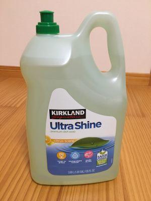 カークランド ウルトラシャイン食器用洗剤