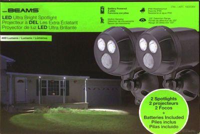 MR BEAMS LEDモーションセンサー スポットライト