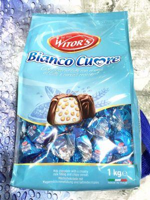 Witor's ミルクチョコレートプラリネ ビアンコクオレ