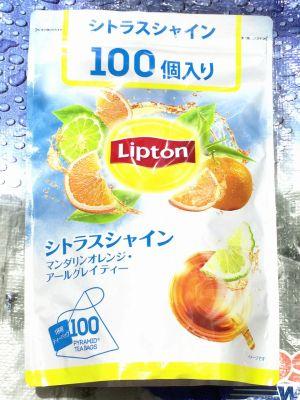 リプトン シトラスシャイン マンダリンオレンジ・アールグレイティー