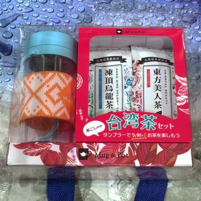 TOKYO TEA TRADING Mug&Pot 台湾茶セット