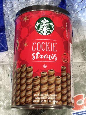 スターバックス クッキーストローチョコレート