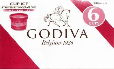 ゴディバ カップアイス ストロベリーチョコチップ