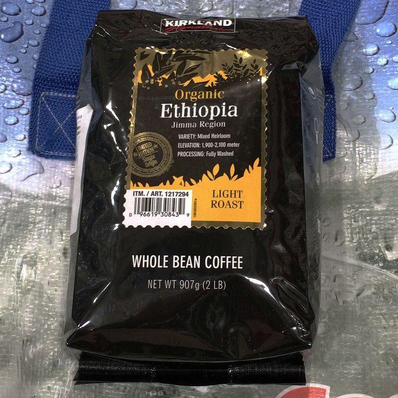 [2]が投稿したカークランド エチオピアオーガニックコーヒーの写真