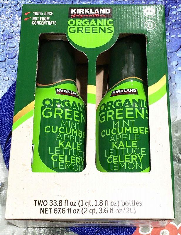 [2]が投稿したカークランド オーガニック グリーンジュースの写真