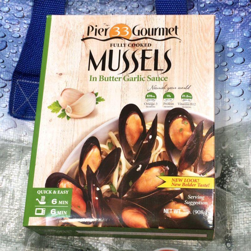 [50]が投稿したpier 33 gourmet ムール貝 バターガーリック味の写真