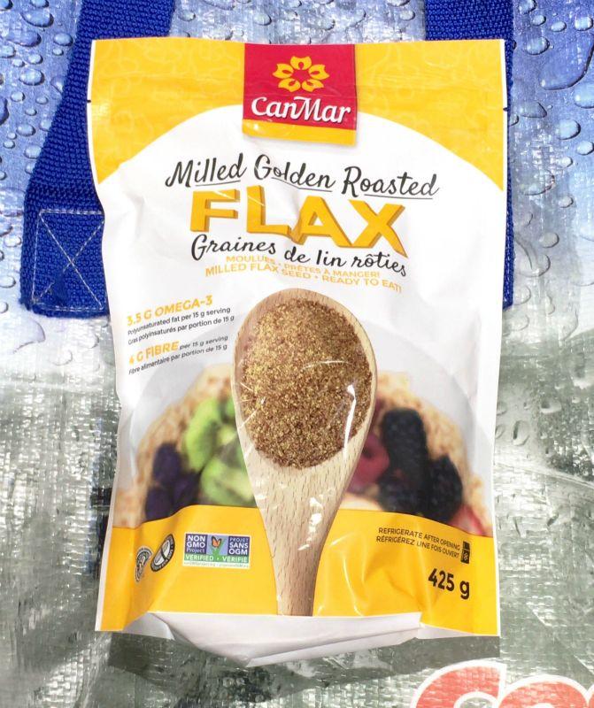 [8]が投稿したCANMAR FOODS ローストアマニパウダー(亜麻仁)Milled Golden Roasted FLAXの写真