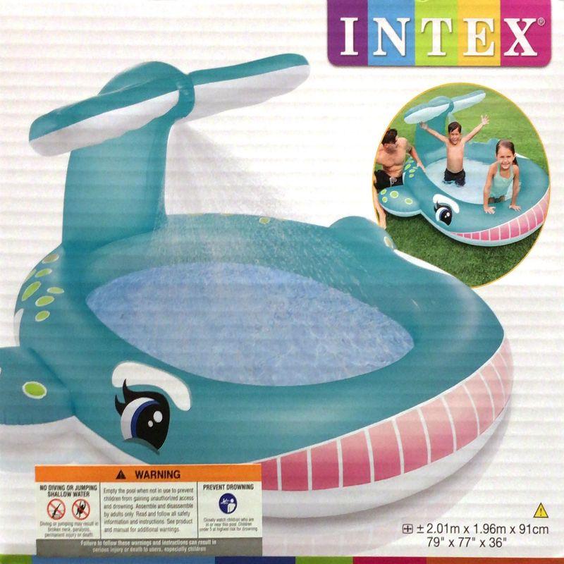 [1]が投稿したINTEX ホエールスプレープールの写真