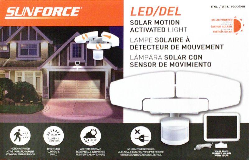 [1]が投稿したSUNFORCE PRODUCTS ソーラー人感180°センサーライト の写真