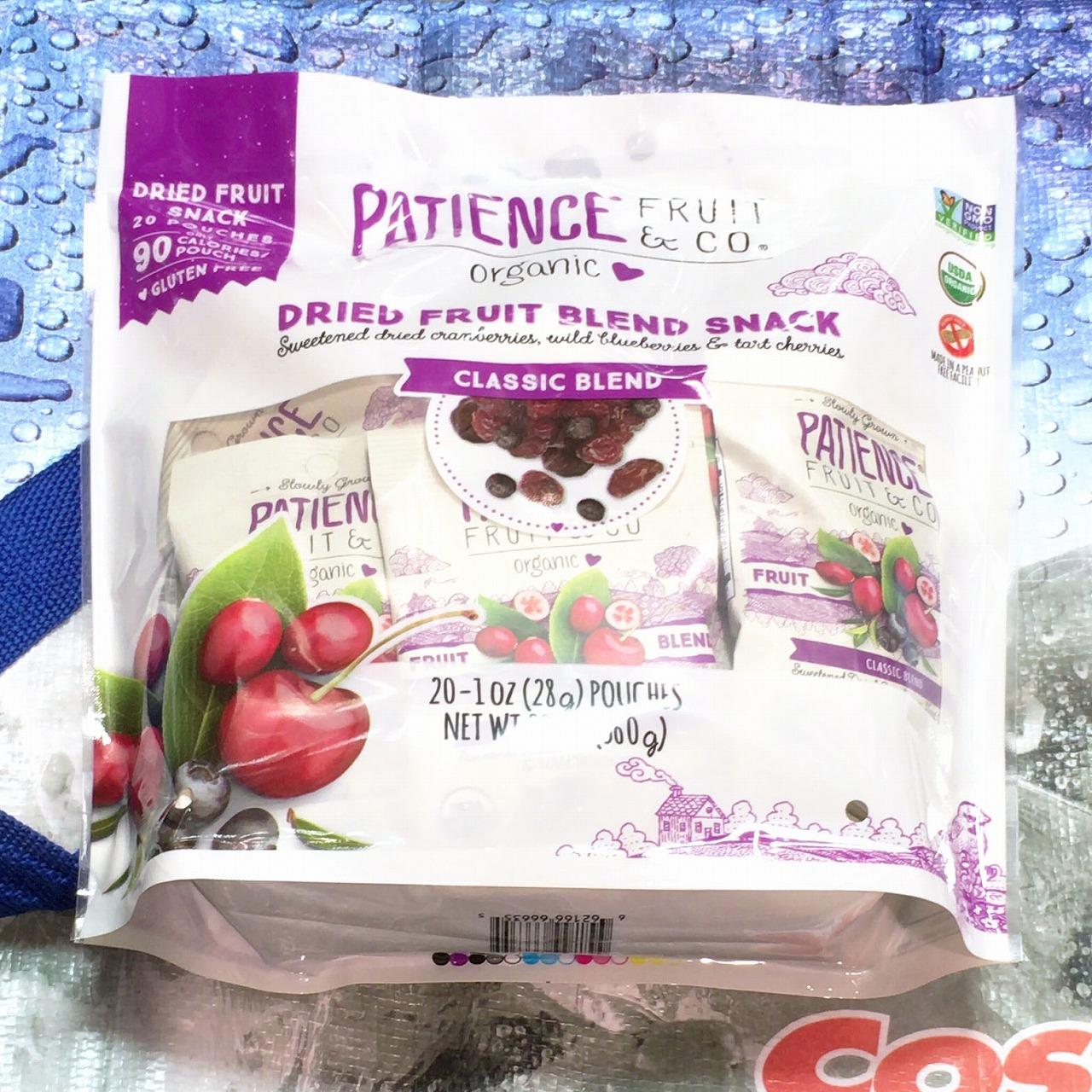 [2]が投稿したPATIENCE FRUIT&CO. オーガニックドライフルーツパックの写真