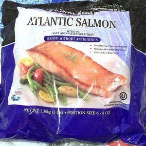 KS  ATLANTIC  SALMON (カークランド 冷凍アトランティック サーモン)